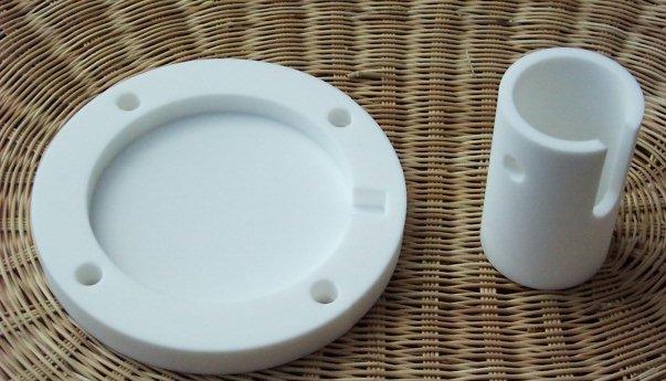 Machinable ceramics, Macor and Shapal M-soft